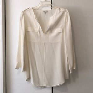 Silk Joie long sleeved top - size small